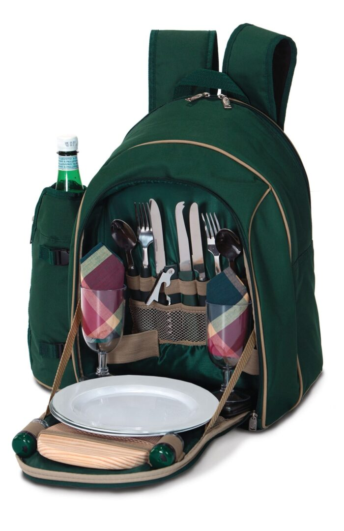 Endeavor 2 Person Picnic Backpack - Green