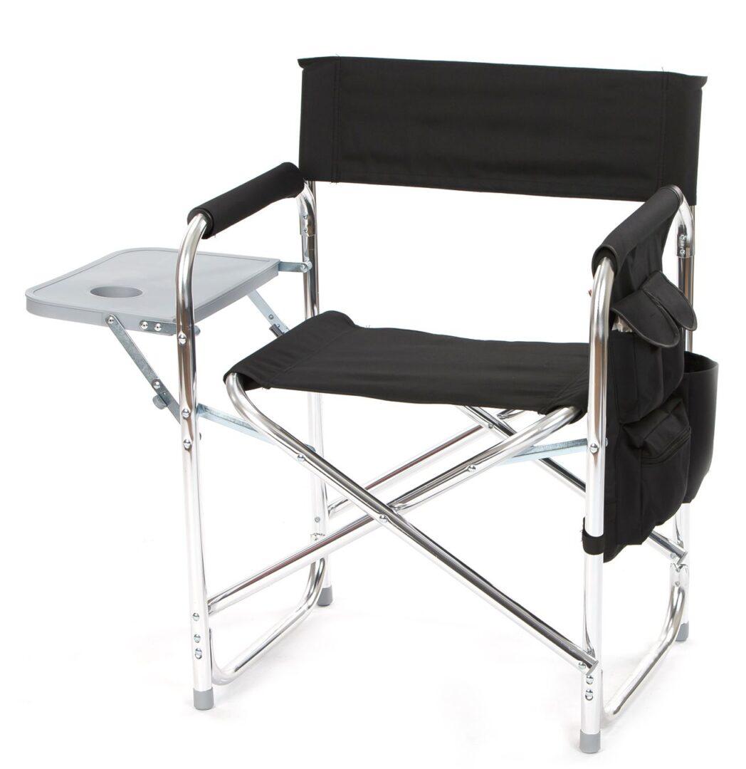 Director's Sport Chair - Black