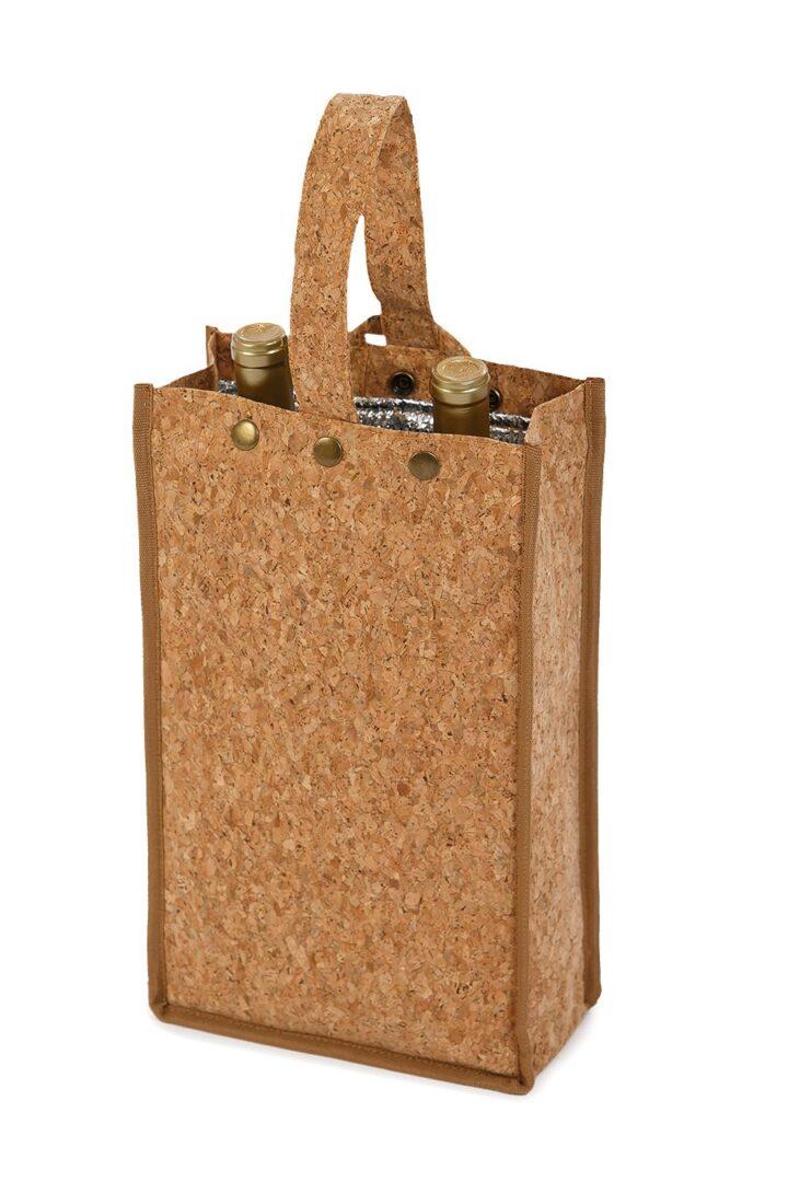 Silverado II Insulated Double Bottle Bag - Cork