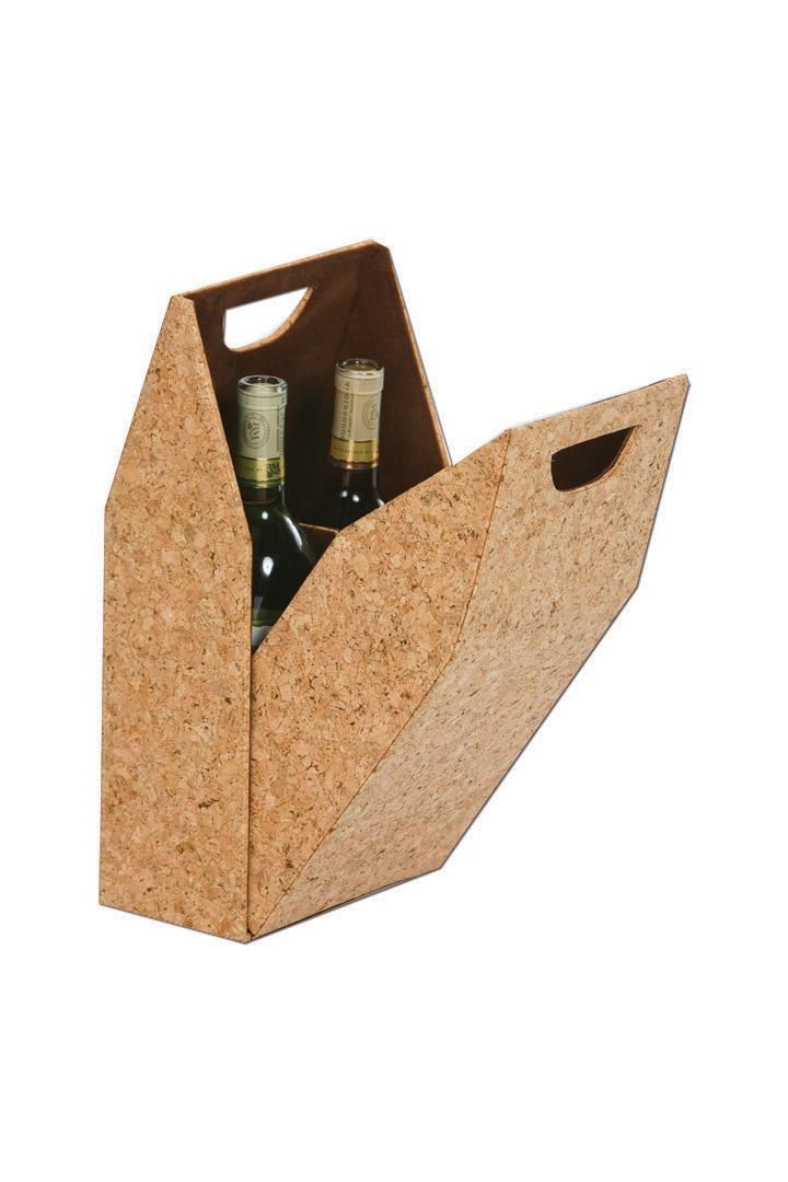 Double Bottle Box - Cork