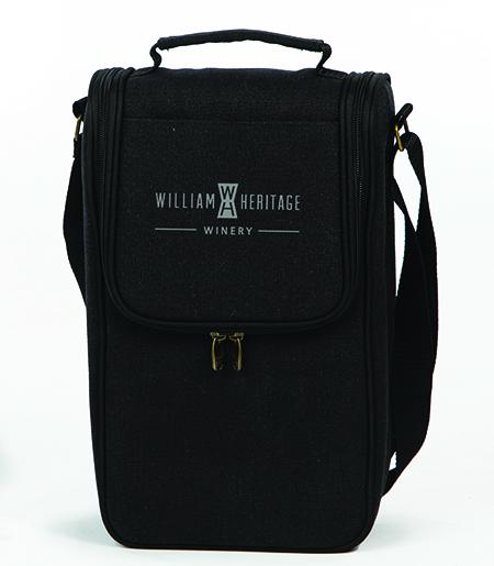 Black wine bag