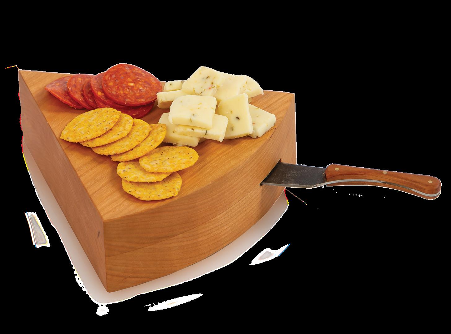 USA Wedgie Cheese Board - Cherry