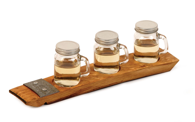 USA Moonshine Taster Set - Oak